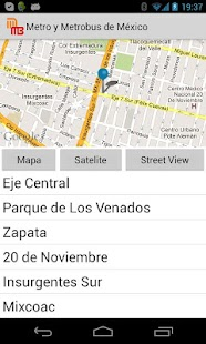 Metro y Metrobus de Mexico - screenshot thumbnail