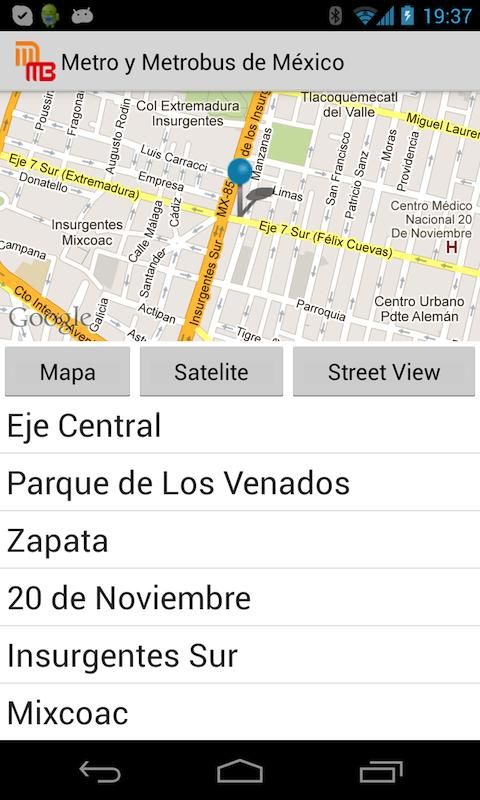Metro y Metrobus de Mexico - screenshot