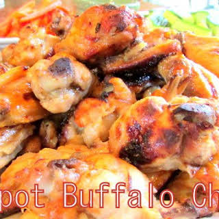 Simple Crock Pot Buffalo Chicken Wings.