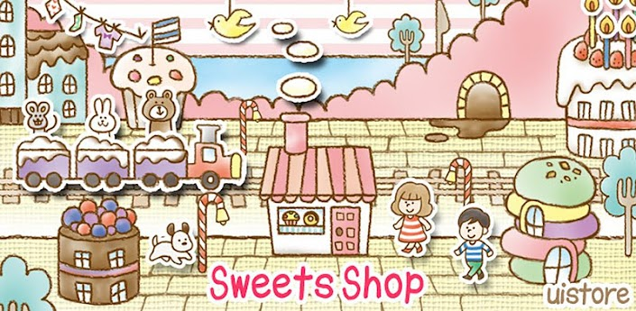 Sweets Shop LiveWallpaper apk
