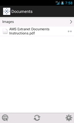 AMS Extranet Documents