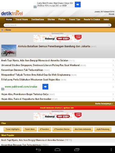 【免費旅遊App】Detik Travel (Unofficial)-APP點子