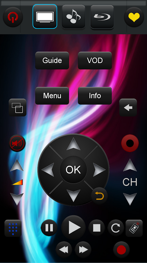 Touchsquid GR PRO Remote- screenshot