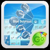 Blue Dolphins GO Keyboard