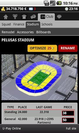 Striker Manager (soccer) 0.82 screenshot 390637
