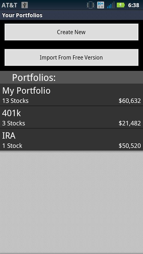 Portfolio Map Pro- screenshot
