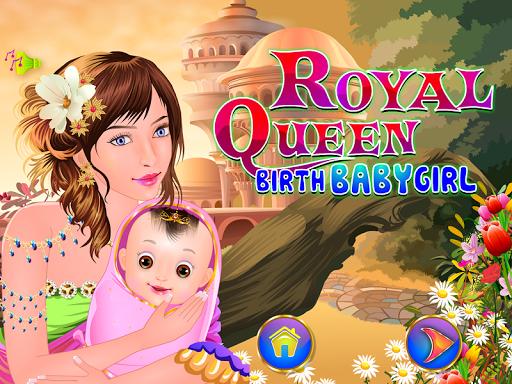 誕生赤ちゃんの女王ゲーム