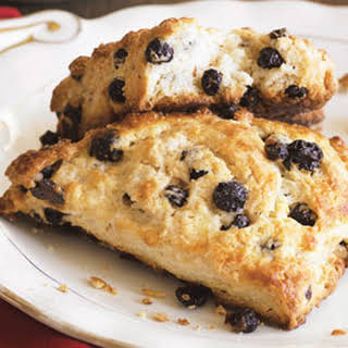 Meyer Lemon and Dried Blueberry Scones.