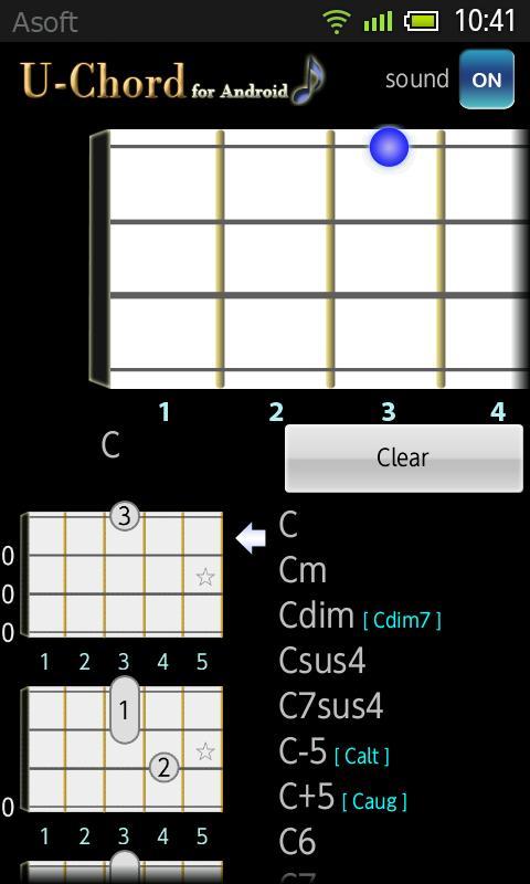 UChord (Ukulele Chord) No Ads- screenshot