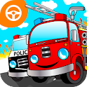 Cool Fire Truck Games for Kids icon