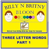 Three Letter Words Part 1 Free