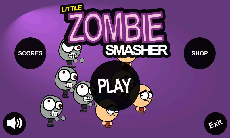 Little Zombie Smasher - screenshot