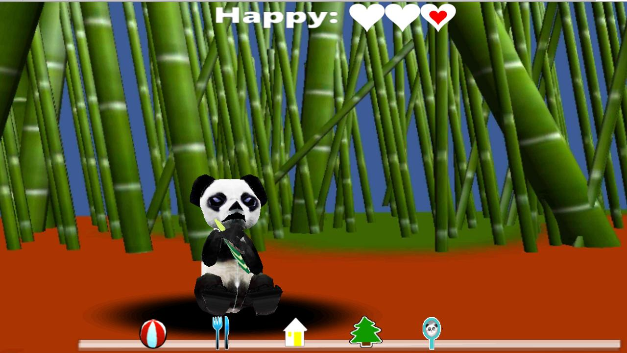 My Pet Panda AD version - screenshot