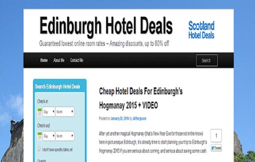 Edinburgh Hotel Deals.org