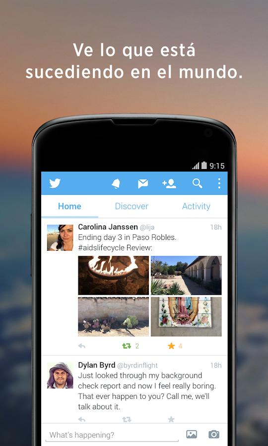 Twitter - screenshot