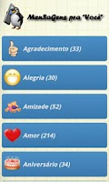 Screenshot of MenSaGens pra Você
