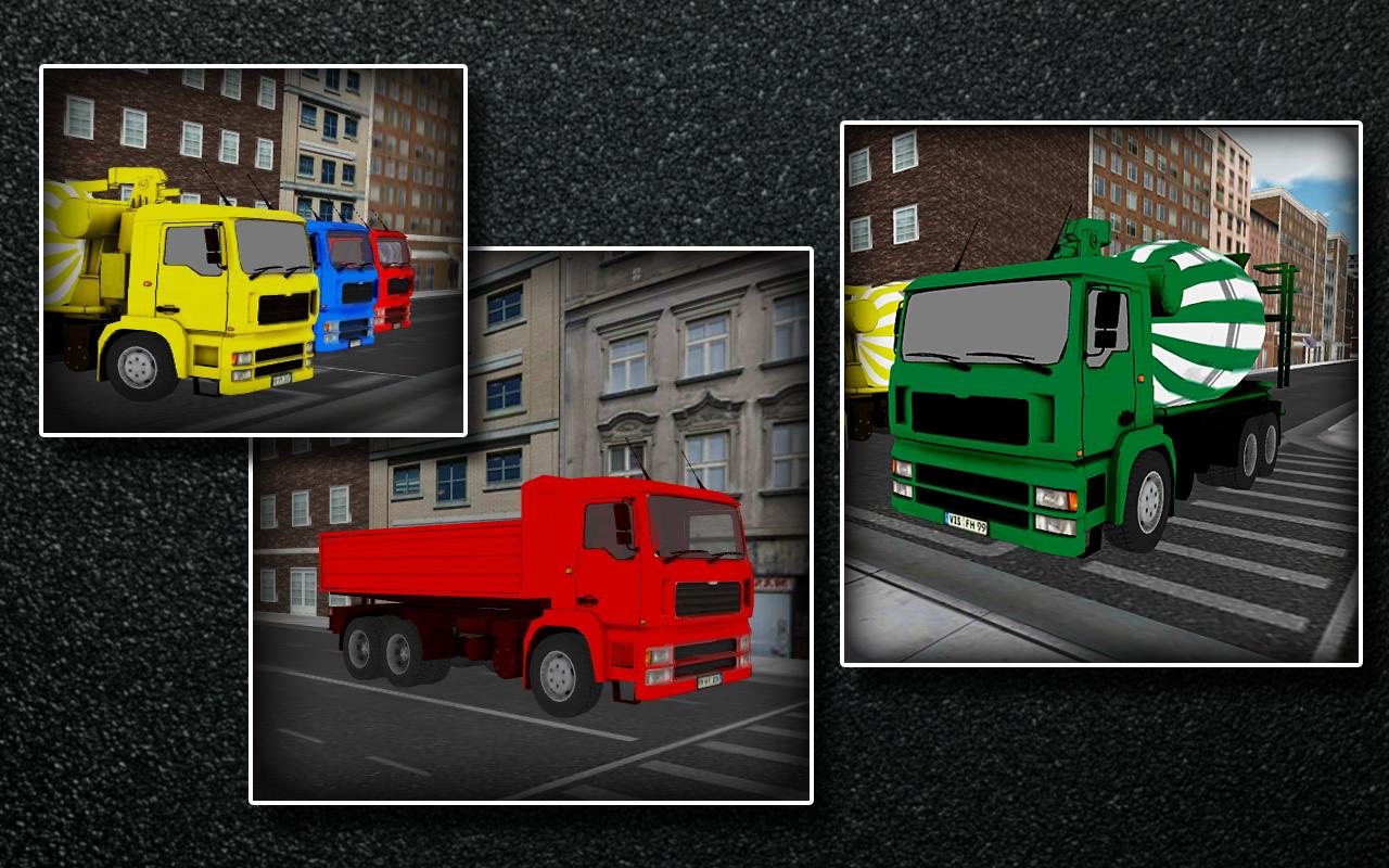 Truck Parking 3D Simulator- screenshot