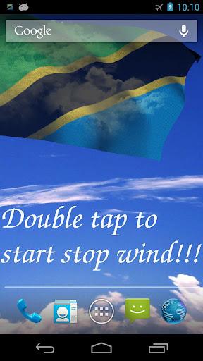 3D Tanzania Flag LWP