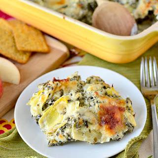 Spinach and Artichoke Dip Chicken.