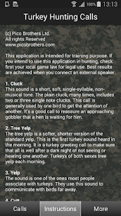 Turkey Hunting Calls- screenshot thumbnail