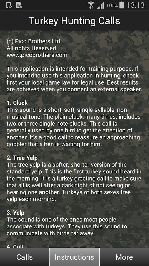Turkey Hunting Calls- screenshot