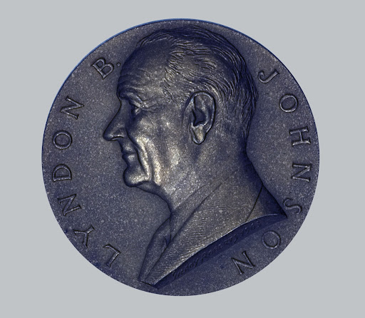 Lyndon B. Johnson Presidential Seal Medal