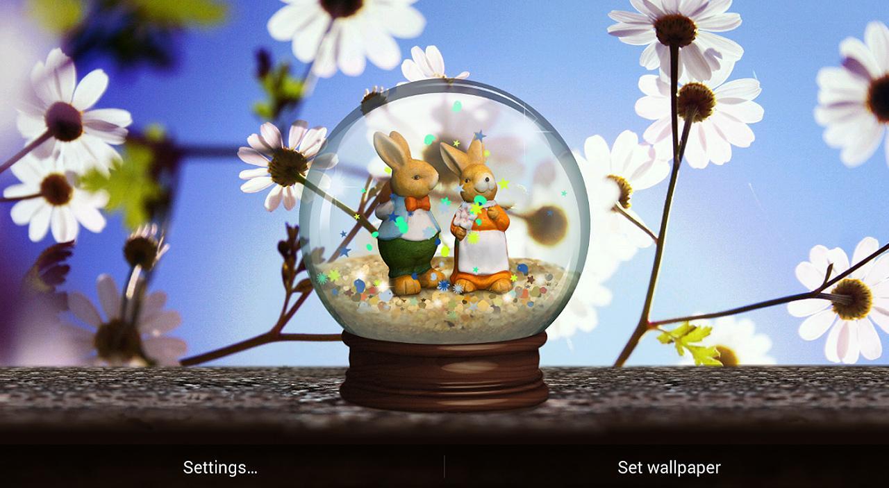 Primavera fondos animados aplicaciones de android en for Fondo de pantalla primavera