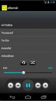 Screenshot of Quran mp3 (Mohammad Albarrak)