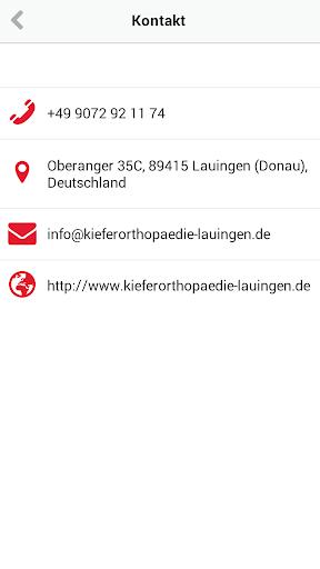 【免費醫療App】Kieferorthopädie Lauingen-APP點子