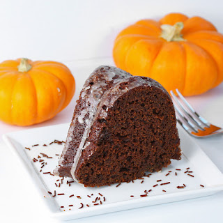 Chocolate Pumpkin Cake