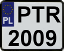 Registration plates of Poland logo