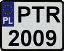 Registration plates of Poland 1.1
