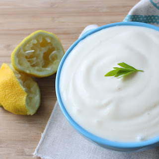 Vegan Sour Cream.