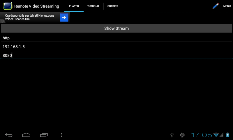 Remote Video Streaming- screenshot