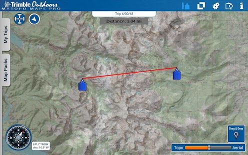 MyTopo Maps Pro by Trimble - screenshot thumbnail