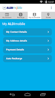 Screenshot of ALDImobile