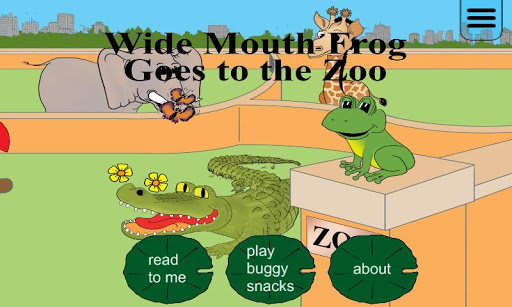 Wide Mouth Frog Storybook