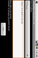 Screenshot of Scheduling of Machines