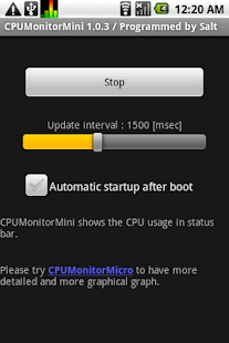 CPUMonitorMini - screenshot thumbnail