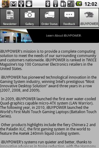 iBUYPOWER - screenshot