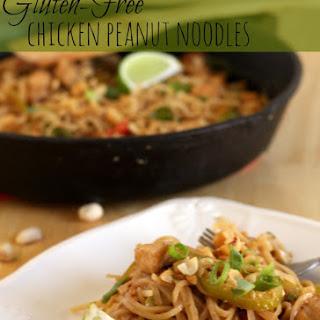 Gluten-Free Chicken Peanut Noodles