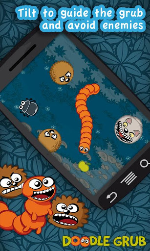 Doodle Grub - Twisted Snake v1.21 APK Download Android Full Free Mediafire