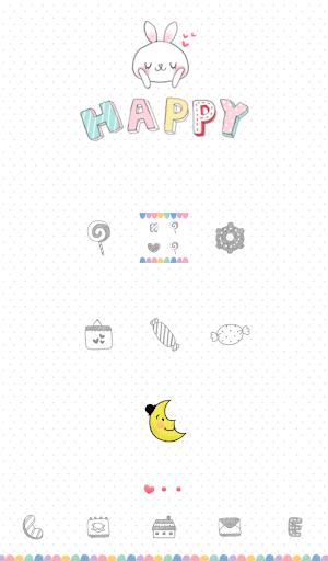 happy dodollauncher theme