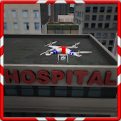 3D Ambulance Drone Simulator