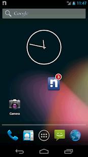 Notifier Widget for Facebook - screenshot thumbnail