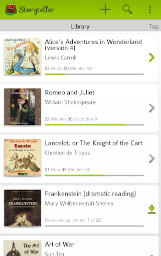 Storyteller - Audiobook Player