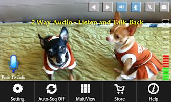 Screenshot of uCamPro: IPCam & Webcam Viewer