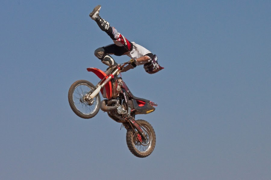Freestyle by Dirk Luus - Sports & Fitness Motorsports ( motocross, motorbike, tricks, motorcycle, freestyle )