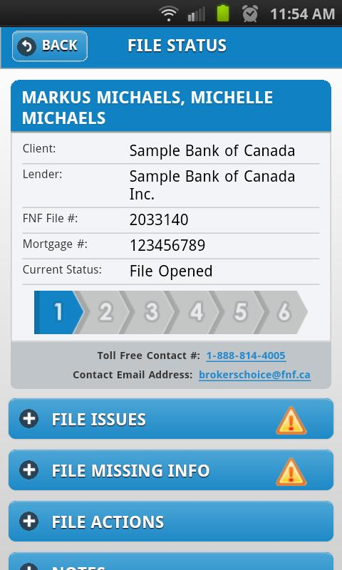FNF Broker Connect - screenshot