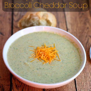 Copycat Panera Broccoli Cheddar Soup…25 Days of Holiday Treats